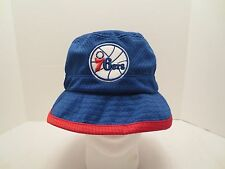 MITCHELL & NESS NBA THEN AND NOW REVERSIBLE BUCKET HAT PHILADELPHIA 76ERS S/M