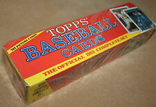 1988 Topps Factory Official Complete Set 792 Baseball Cards