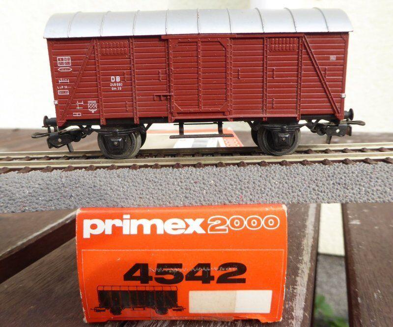 Primex 4542 Primex 2000 H0 MÄRKLIN DB covered goods wagon wagon BOX CAR BOXED