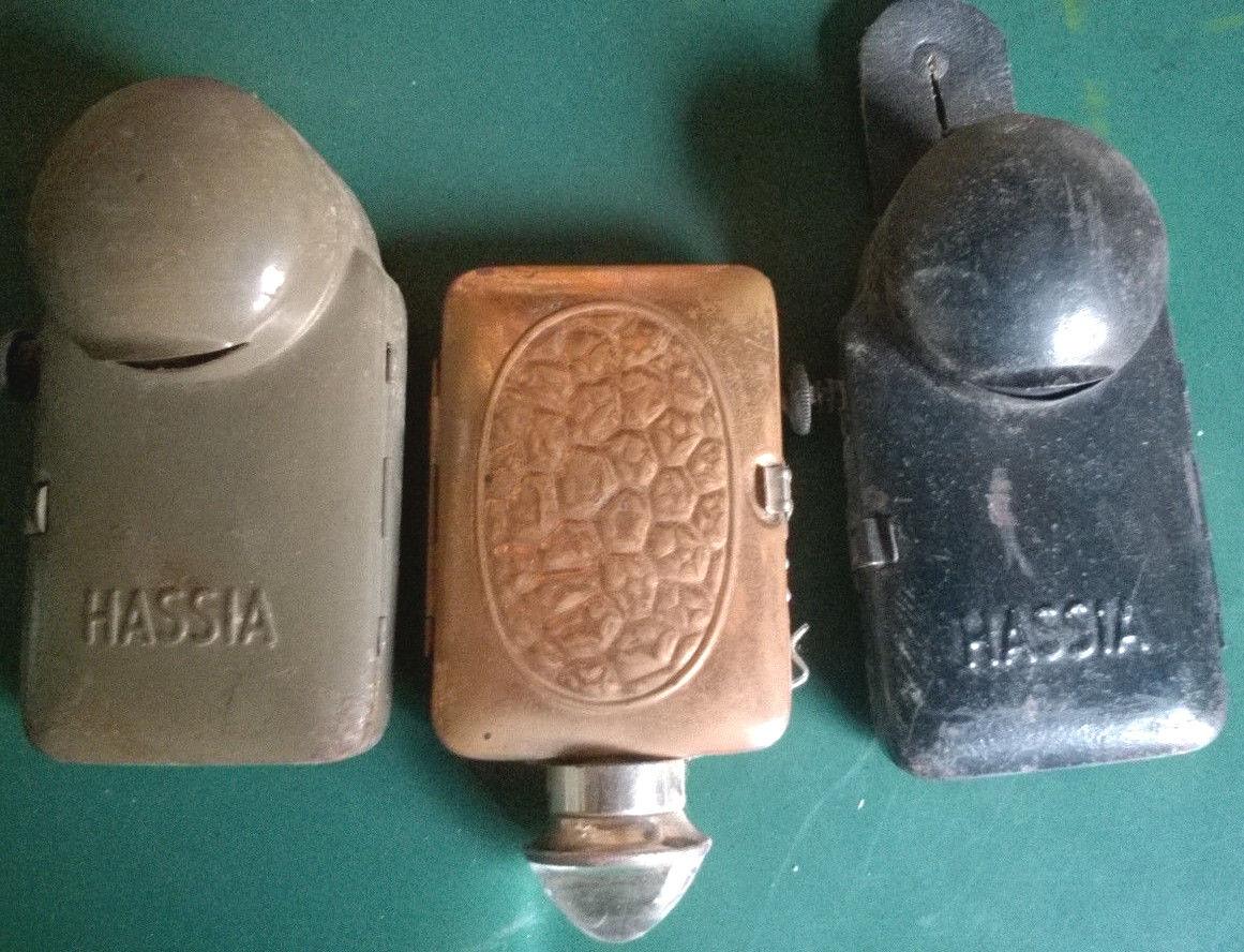 4 x x x Hassia Taschenlampen 30er-40er Jahre, Wehrmacht 0fdd99