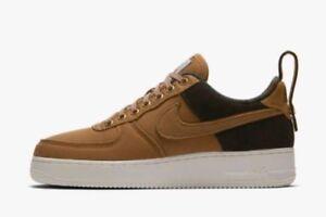 Nike Air Force 1 Low Premium X Carhartt Ale Brown Sail AF1 Shoes AV4113-200 Mens