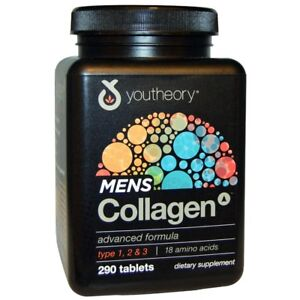 Youtheory-Men-039-s-Collagen-290-Tablets