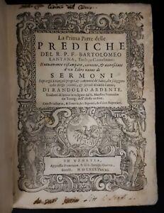 Lantana: La prima [-terza] parte delle prediche..pubblicati con i Sermoni, 1585
