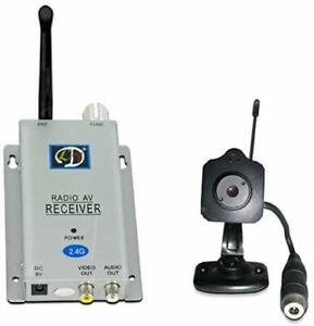 Home Office Security Surveillance Camera With Radio Receiver /& Wireless Cam New