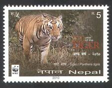 Nepal 2010 WWF/Tiger/Lunar New Year/Animals/Wildlife/Cats/Conservation 1v n38883