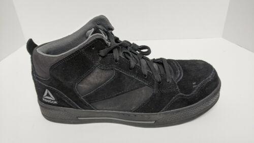 Reebok Dayod Composite Toe Shoes, Black, Men's 10