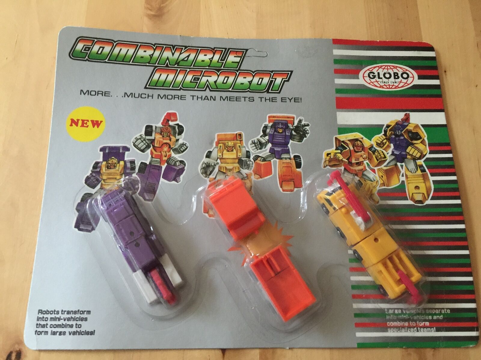 Transformers G1 CONSTRUCTOR SQUAD KO (ITALY) combinable micromaster MOSC