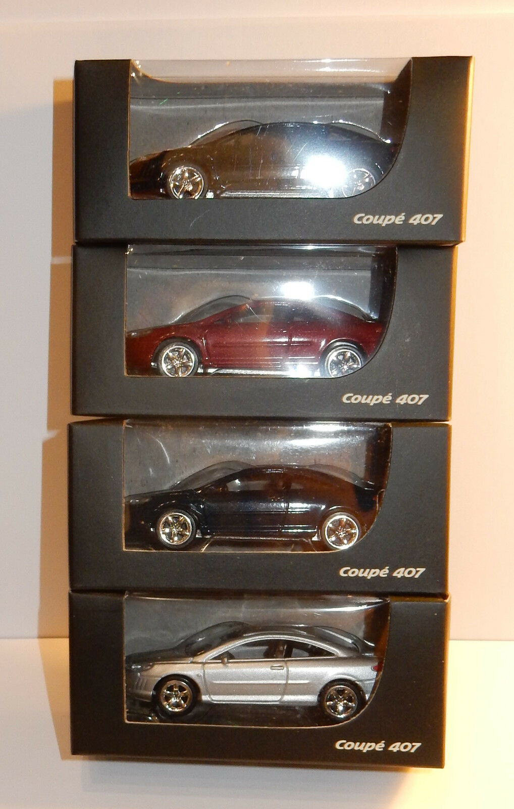 NOREV 3 INCHES 1 64 PEUGEOT 407 COUPE 211 CV 243 KM H in 4 colors to choose from