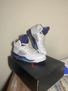 Air Jordan 5 Fresh Prince Grape Size 9 Nike Air