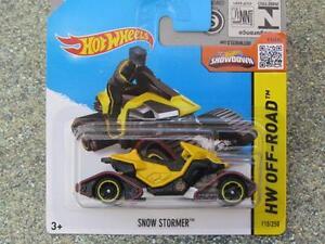 Hot-Wheels-2015-110-250-SNOW-STORM-yellow-CASE-J-New-Casting-2015