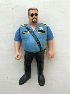 Details About Rare Wwe The Big Boss Man Hasbro Wrestling Figure Wwf Series 1 1991