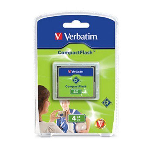 Verbatim 95188 4gb Compact Flash Tarjeta CF Flsh ver95188