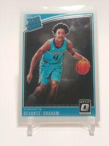 2018-19 Panini Donruss Optic Devonte Graham Base Rookie RC Charlotte Hornets