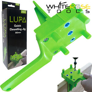 LUPA-Quick-Dowelling-Jig-E-L-amp-T-Joints-6-8-amp-10mm-Dowel-Drill-Wood-Joint-30mm