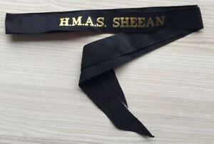 H-M-A-S-SHEEAN-GENUINE-RAN-TALLY-BAND-220-SHIPS-NAMES-AVAILABLE