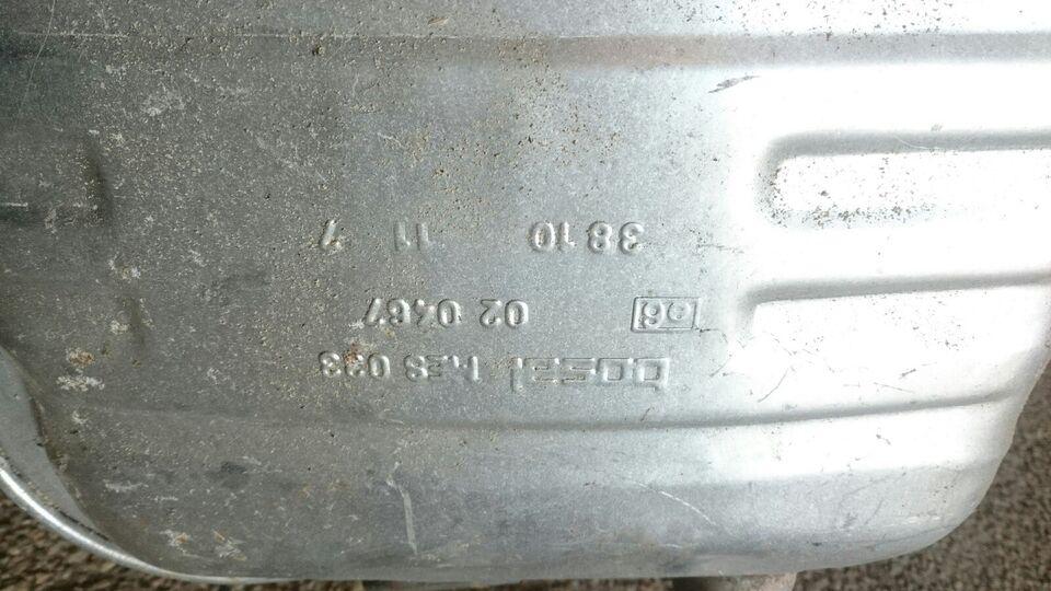 Udstødning, Bagpotte, Ford Mondeo