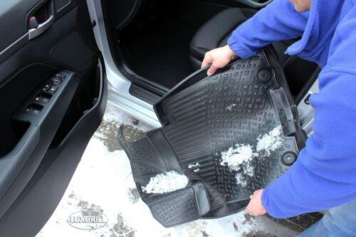 RMVW200107 PREMIUM Gummimatten Gummifußmatten TPE 3D für VW Caddy ab 2003