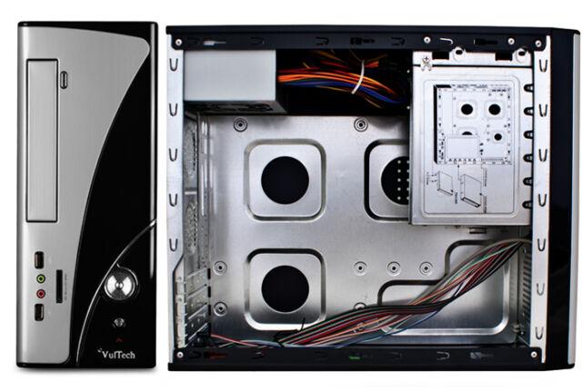 MINI CASE MICRO + ALIMENTATORE 500 WATT MICRO ATX VULTECH GS-2490
