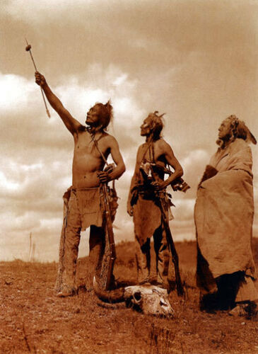 The Oath 22x30 Edward S.Curtis Native American Indian Art Photo