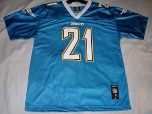 3bf71e5bd LaDainian Tomlinson 21 San Diego Chargers Blue Team Reebok Jersey ...
