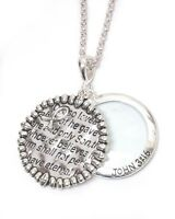 Inspiration Magnifying Glass Necklace Long Jewelry John 3:16 Message Us Seller