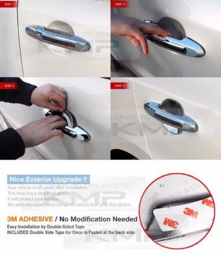 Door Handle Chrome Bowl Cover D707 for HYUNDAI 2011-2016 Elantra Avante MD