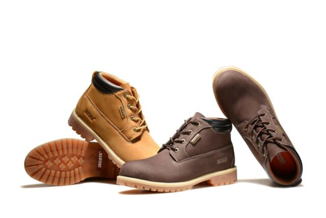 772b8fe3460 Jacata Men's Low-Cut 3 Inch Work Boots Water Resistant Boots Heavy Duty Boot