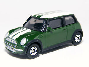 Image Is Loading Tomica 1 57 Scale Mini Cooper Green No