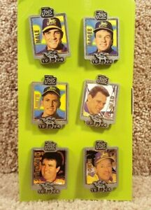New Set Of Six 1994 Camel Smokin' Joe's Racing Pin Set Jim Head Gordie Bonin