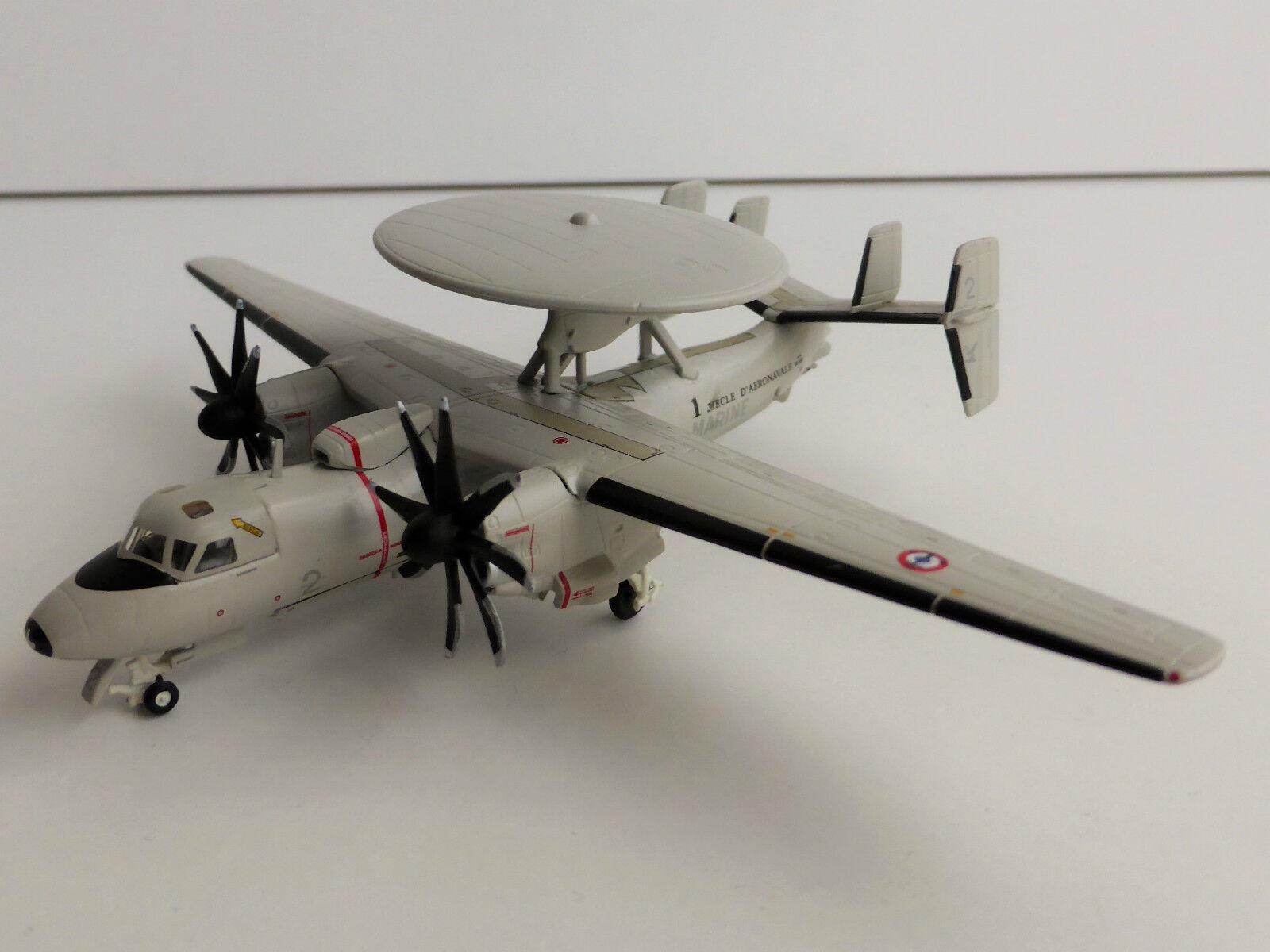 Grumman e-2c Hawkeye French Navy Marine Flotille 4 1 200 Herpa 556675 e-2