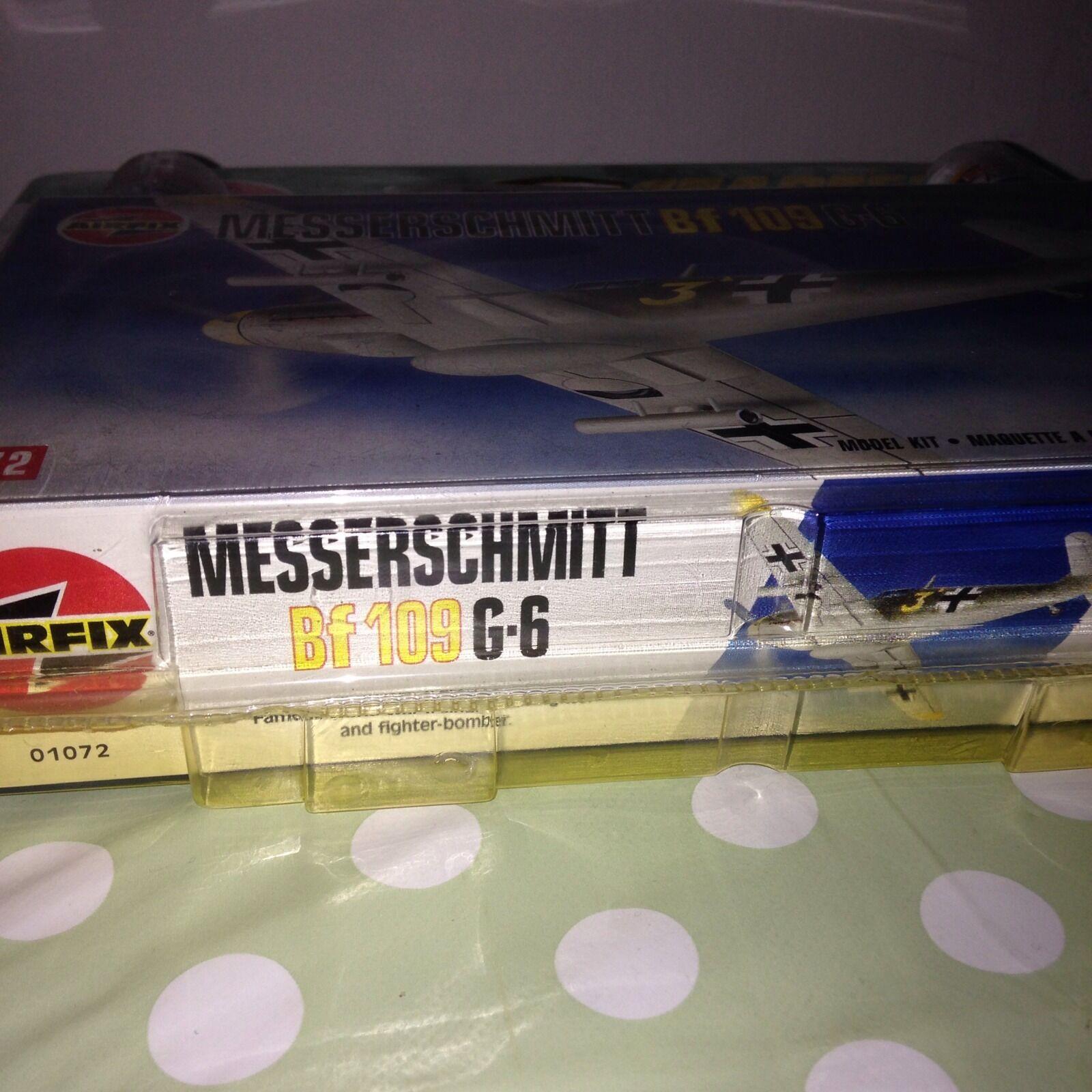 Messerschmitt Bf109 G6 Mk1 Airfix Starter Set 1 72 72 72 Humbrol producto nivel de habilidad 1 deefdb