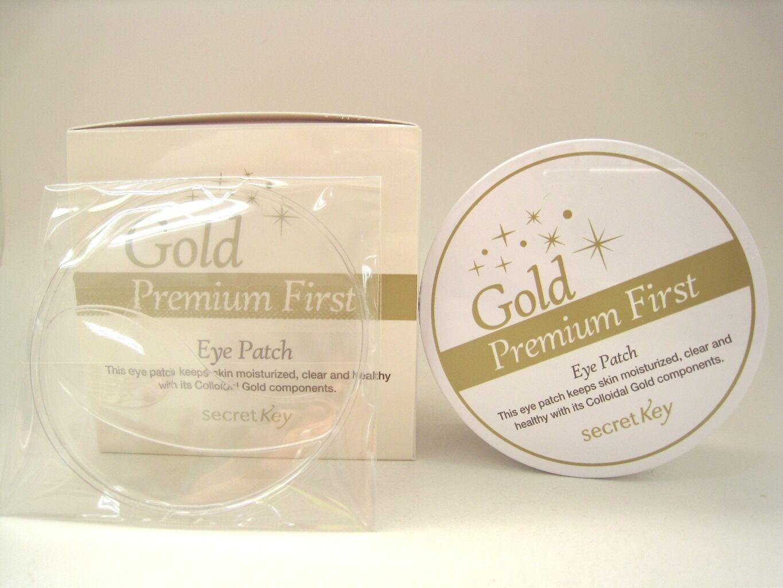 Secret Key Gold Premium First Eye Patch 60p Ebay Cream Korea 2 In 1 Stock Photo