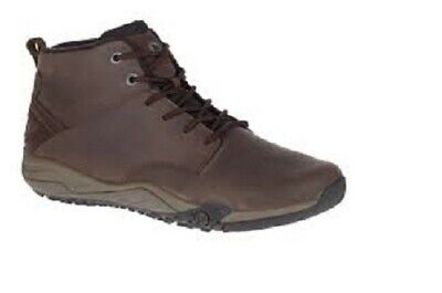 Mens Brown Lace-Up Merrell Walking//Hiking Light weight Boots Helixer Morph frost