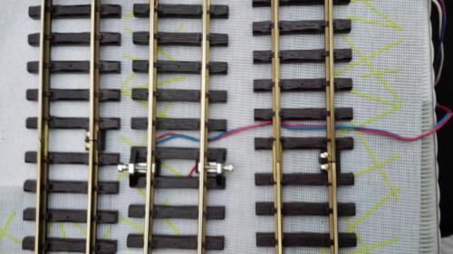 komplett aufgebaut,sofort startklar #ä Für LGB Pendelautomatik