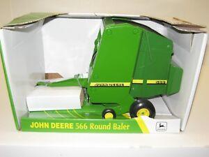Details about 1/16 JOHN DEERE 566 ROUND BALER w/BALE NIB free shipping