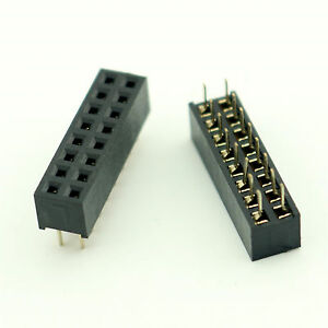 Integrated Circuits 100pcs 2x6 Pin 12p 2.54mm Double Row Female Straight Header Pitch Socket Strip Customers First