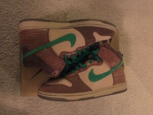 huge selection of 42e3a c0a1e Image is loading Nike-Dunk-High-Premium-SB-034-Tweed-Classic-