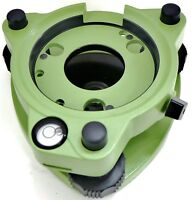 Adirpro Leica Style Twist Focus Tribrach W/o Optical Plummet - Green Surveying