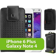 For Samsung Galaxy Note 5 Vertical Leather Case Pouch Holster Swivel Belt Clip
