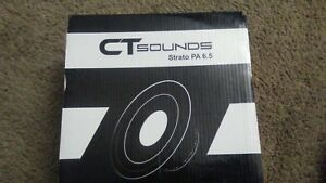 CT Sounds Strato 6.5 Inch Coaxial Car Speaker Set