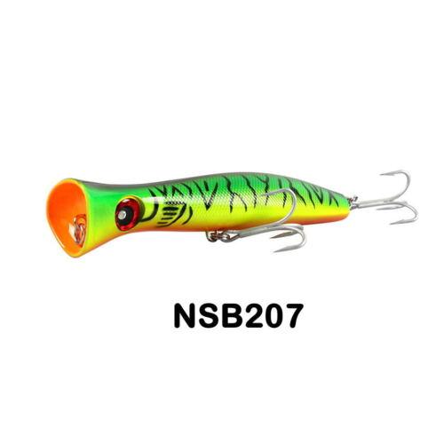 Fishing Hard Lure Big Mouth Popper Lure 200mm//115g Long Casting Trolling Fishing