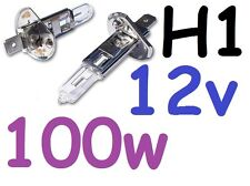 1pr H1 Globes Bulbs 12v 100W Hella Rallye 2000 4000 Cibie Super Oscar