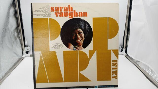 SARAH VAUGHAN'S POP ARTISTRY  - LP Record MG-21069 MONO VG+ cVG+