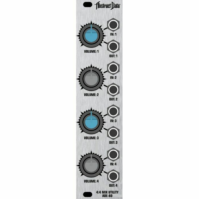 Abstract Data ADE60 Four Stage Mixer & Attenuator Module