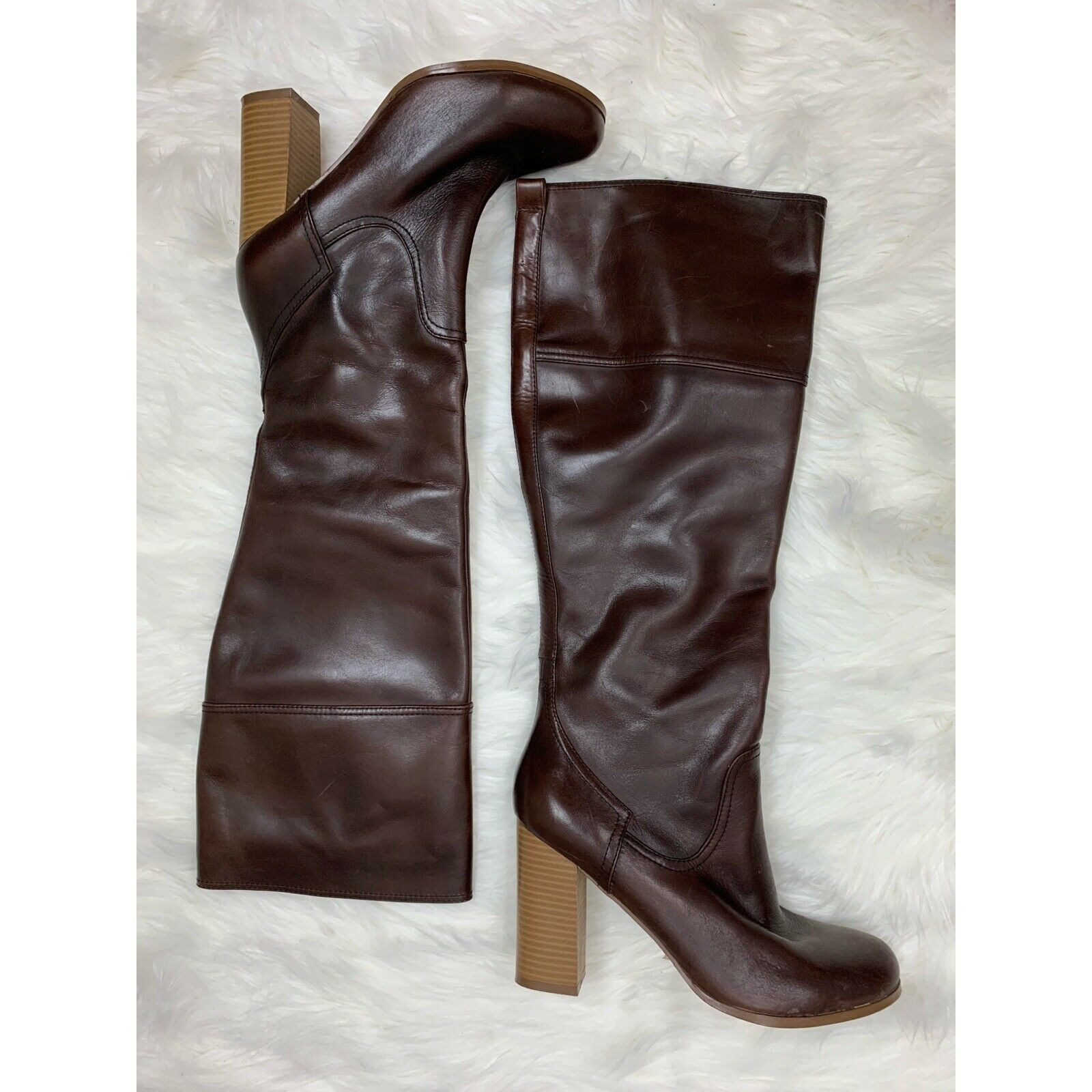 Report Women's Saco Tall Tall Tall Boot Brown US 10 4c3730