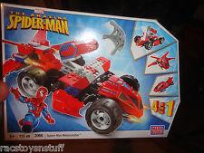 THE AMAZING SPIDERMAN METAMORPHER MEGA BLOKS SET, 4 IN 1