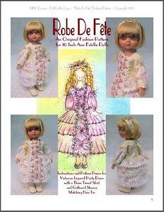 "/""Robe De Fête/"" Fashion Pattern for American Girl Dolls"