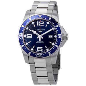 Longines-HydroConquest-Automatic-Blue-Dial-Men-039-s-Watch-L3-841-4-96-6