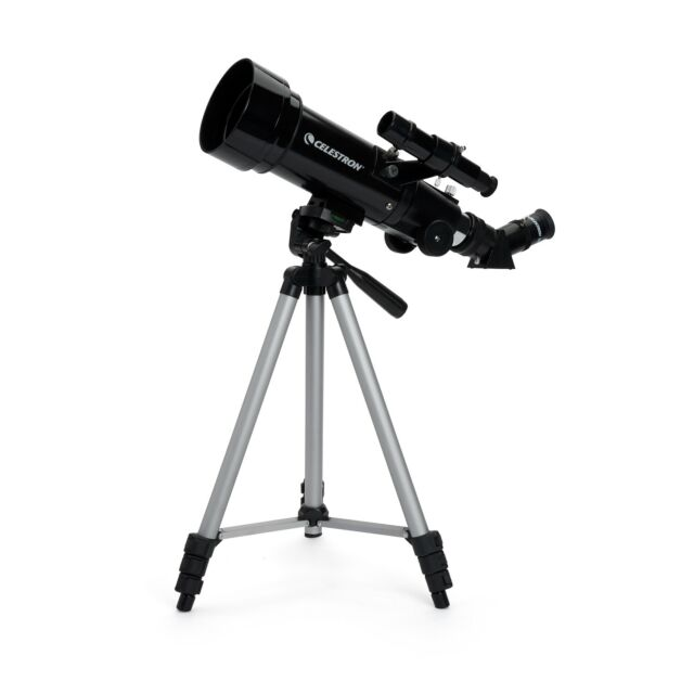 Perfect for Children Adults Educational and Gift White Astronomical Telescope 70mm Astronomy Refractor Telescopes with Backpack Outdoor Merkmak Telescope with Tripod