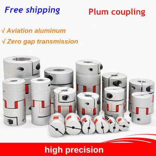 2pcs Plum Coupling Star Elastic High Torque Coupling Servo Motor CNC Aluminum